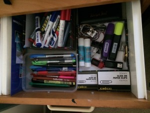 drawer organised pic